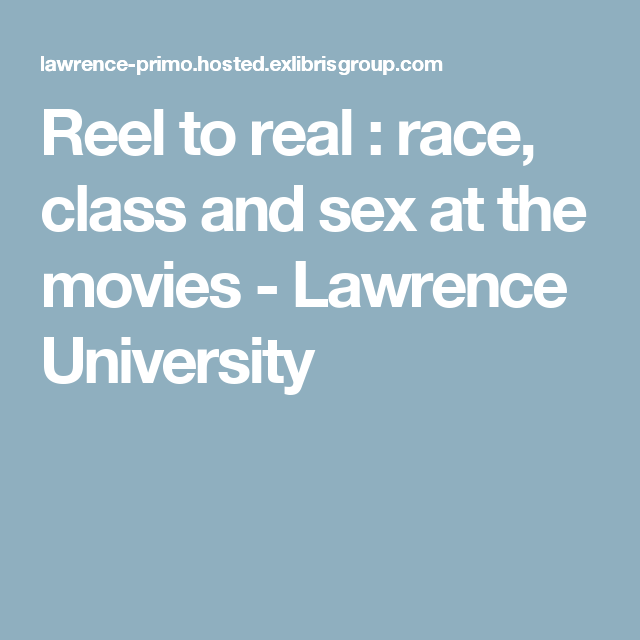 and sex class race