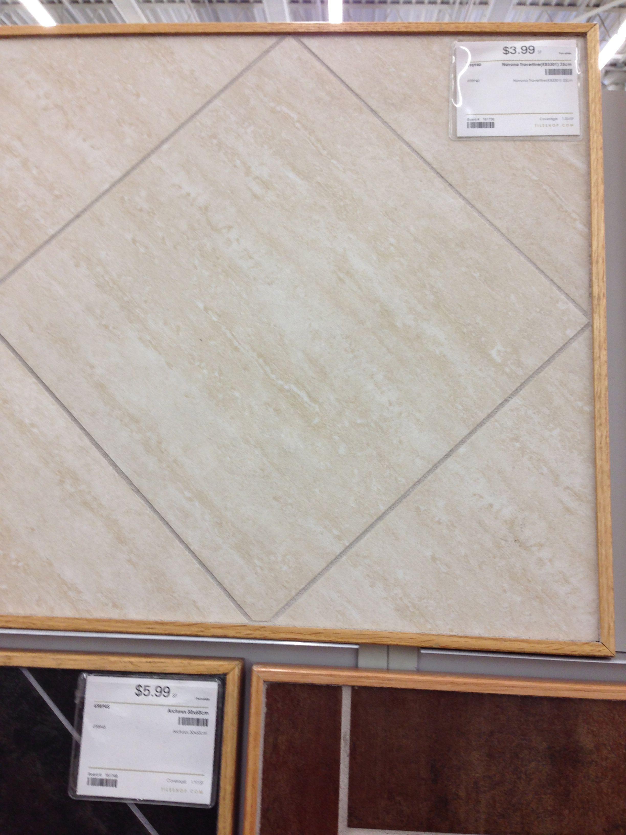 Porcelain tile with travertine look schroeder addition pinterest