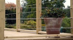 wire balcony - Google Search