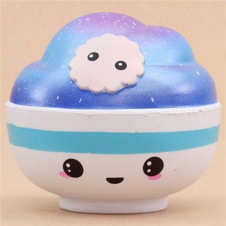 Squishy Kawaii : cute Connie jumbo galaxy bowl scented squishy kawaii Squishy kawaii, Kawaii and Squishies