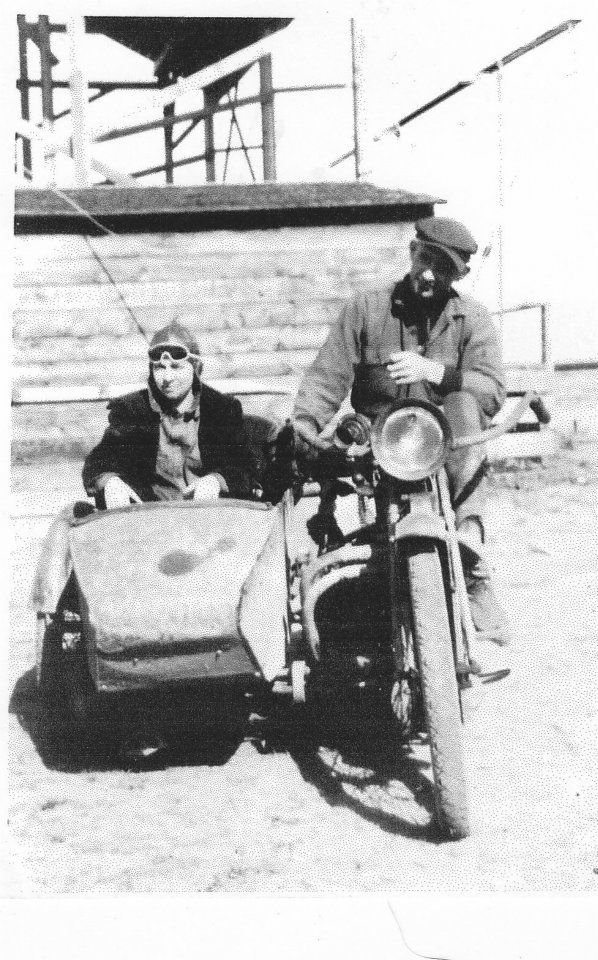 1921 Indian Motorcycle with Homemade sidecar..traveled from Ohio to ...