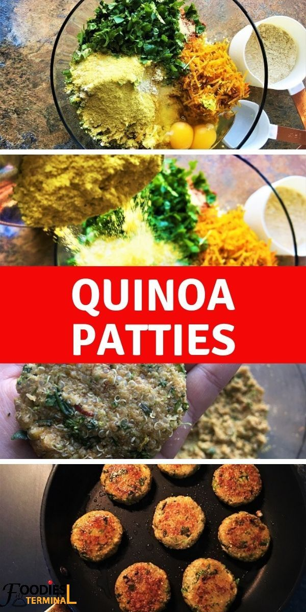 Photo of Easy Quinoa Patties