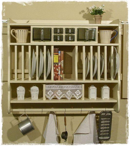 wandregal tellerregal k chenregale von ansolece auf aus der holzwerkstatt in. Black Bedroom Furniture Sets. Home Design Ideas