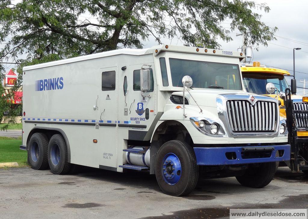 International Workstar Brinks Armored Truck Armored Truck Trucks Armored Vehicles