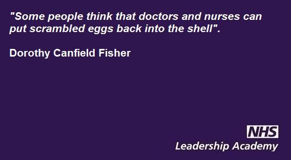 Nhsleadershipacademy On Leadership Twitter Quotes