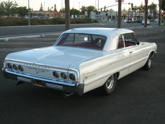 1964 Chevy Impala White 283 2 Barrel 2 Speed Powerglide Bought