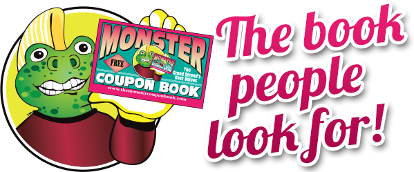Attractions Monster Coupon Book