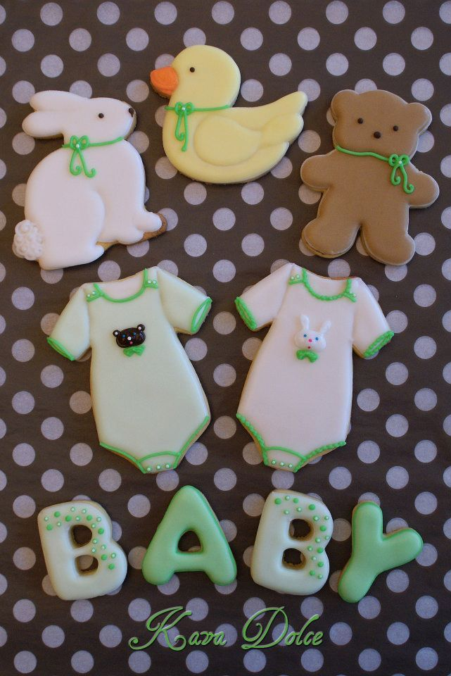 baby cookies...from the Easter cookie cutters