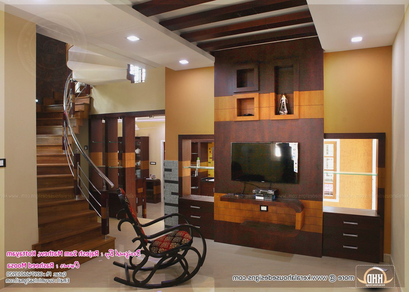 Middle Class Kerala Interior Design Living Room Home Design Ideas