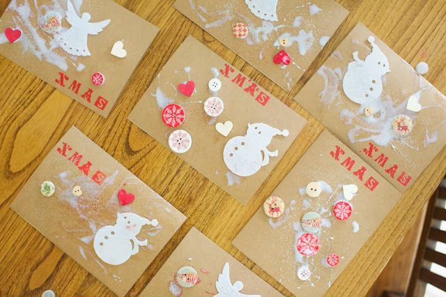 Christmas Crafts For 1 Year Olds.Christmas Card Crafting With A 1 Year Old Festive Toddler