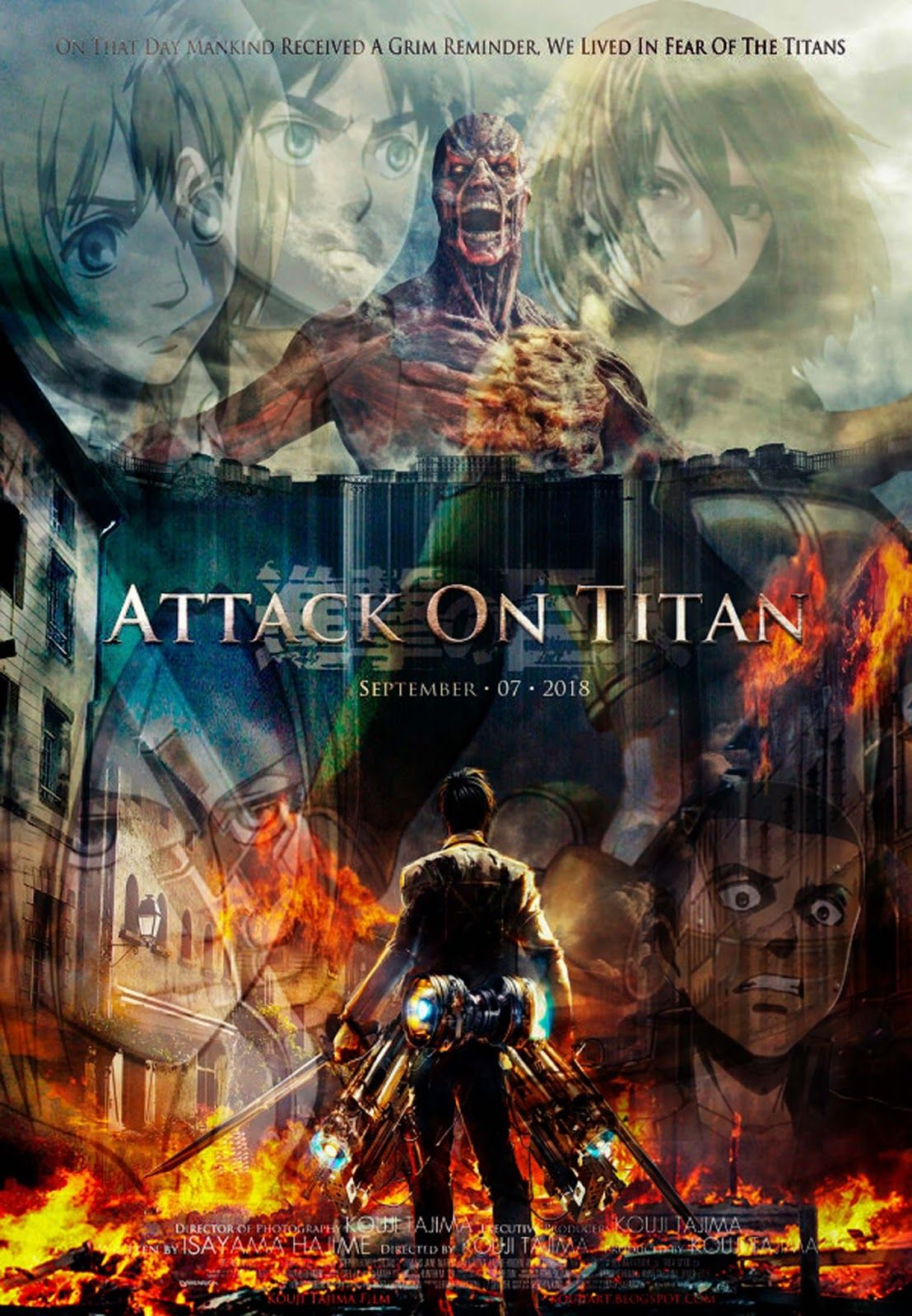 Assignment 2 Attack on Titan Movie Poster Attack on