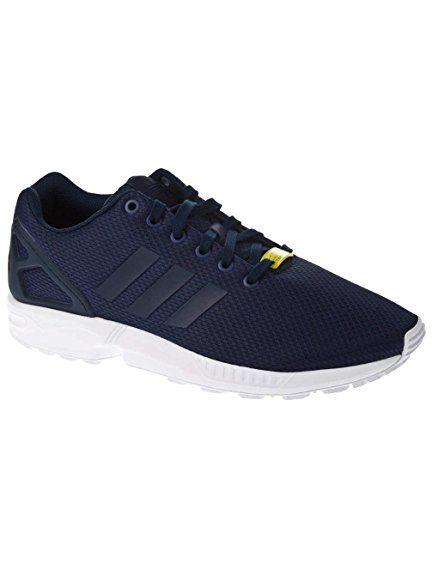 buy popular 23d41 83c68 adidas ZX Flux - M19841 - Color Navy Blue - Size 10.0