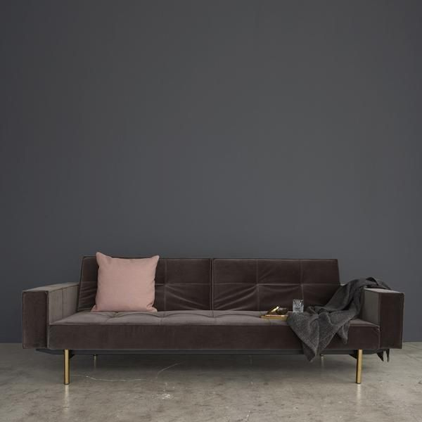 Armed Mob Sofa Bed Steel Legs The Sofa Bed Store Usa