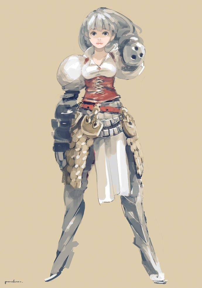 鎧コルセット