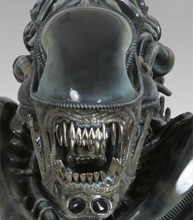 Alien Movie: Giger Alien, Alien Tattoo