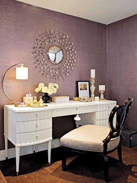 New home interior design makeup vanity ideas also future rh pinterest