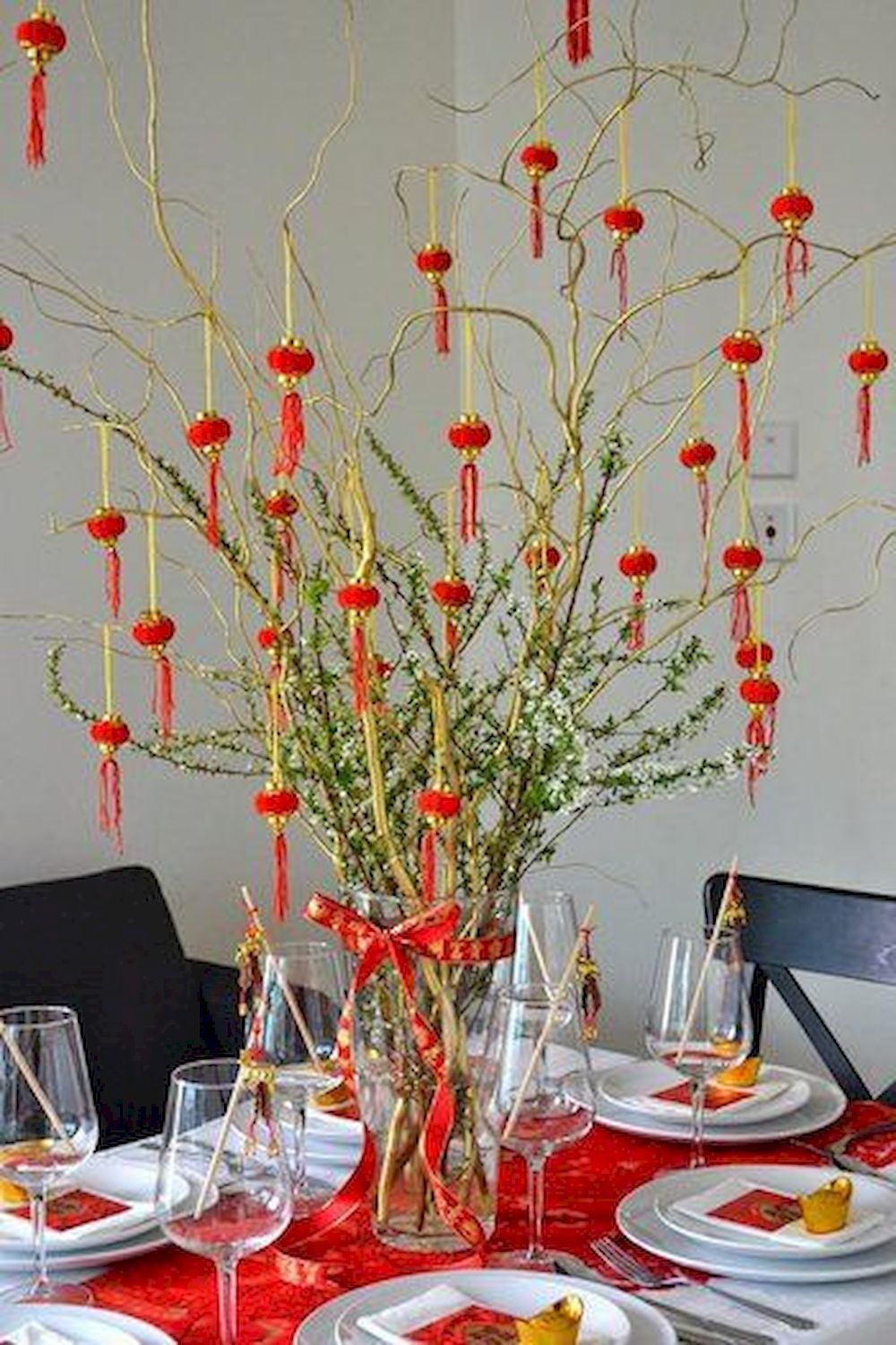Lunar New Year Decoration Ideas | Chinese new year party ...