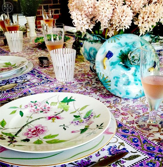 tory burch's table