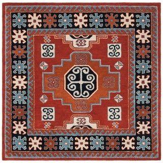 Safavieh Handmade Heritage Krystle Traditional Oriental Wool Rug Rugs Colorful Rugs Area Rugs