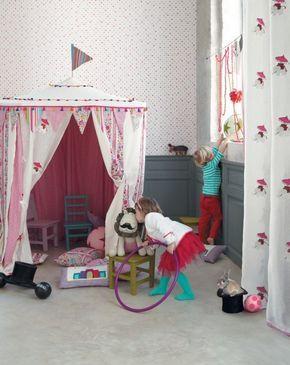 Spielecke Im Kinderzimmer Fantasievoll Verspielt Gestalten | Kinderzimmer Spielplatz Zelt Vorhange Spielzeug Aufbewahrung Amy