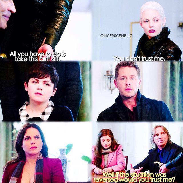 """Dark Swan, Mary Margaret, David, Regina, and Gold 5x10 """"Broken Heart"""""""