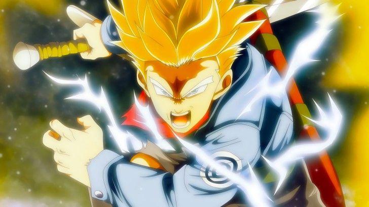 Future Trunks Super Saiyan Dragon Ball Super Anime Wallpaper