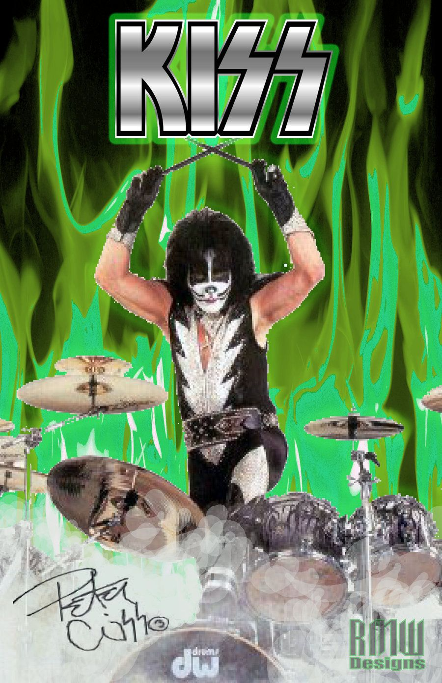 Peter Criss The Old Cat Man By Dreamwarrior84 Peter Criss Rock