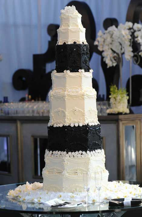 Here we will talk about the most expensive celebrity wedding cakes     Here we will talk about the most expensive celebrity wedding cakes in the  world  Celebrities are famous all over the world  and they have millions of  fans