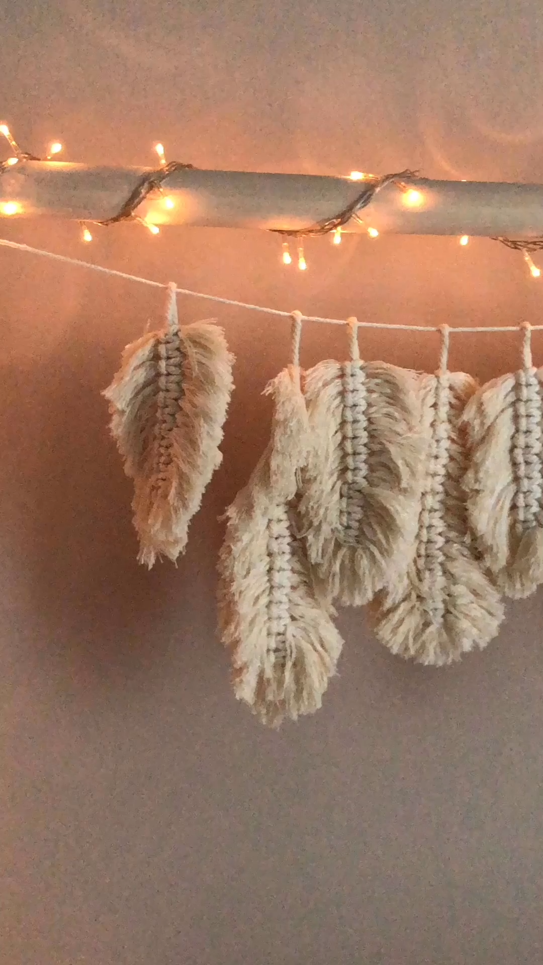 Photo of Make macrame feathers yourself in boho style