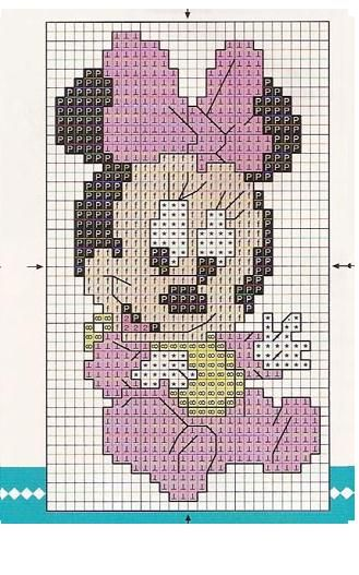Baby Minni E Mickey Mouse A Punto Croce Martha Stewart Maybe