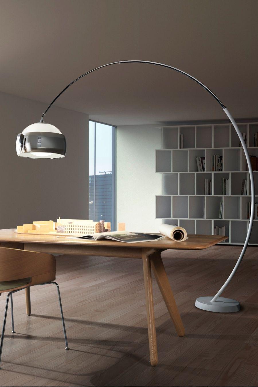Extra Large Long Reach Floor Lamp 2280mm Reach Stylish Floor Lamp Arco Floor Lamp Cool Floor Lamps