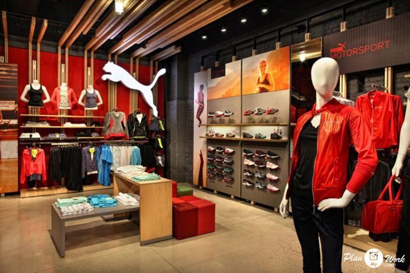Puma Shops In India Retail Design Store Interior Store Design