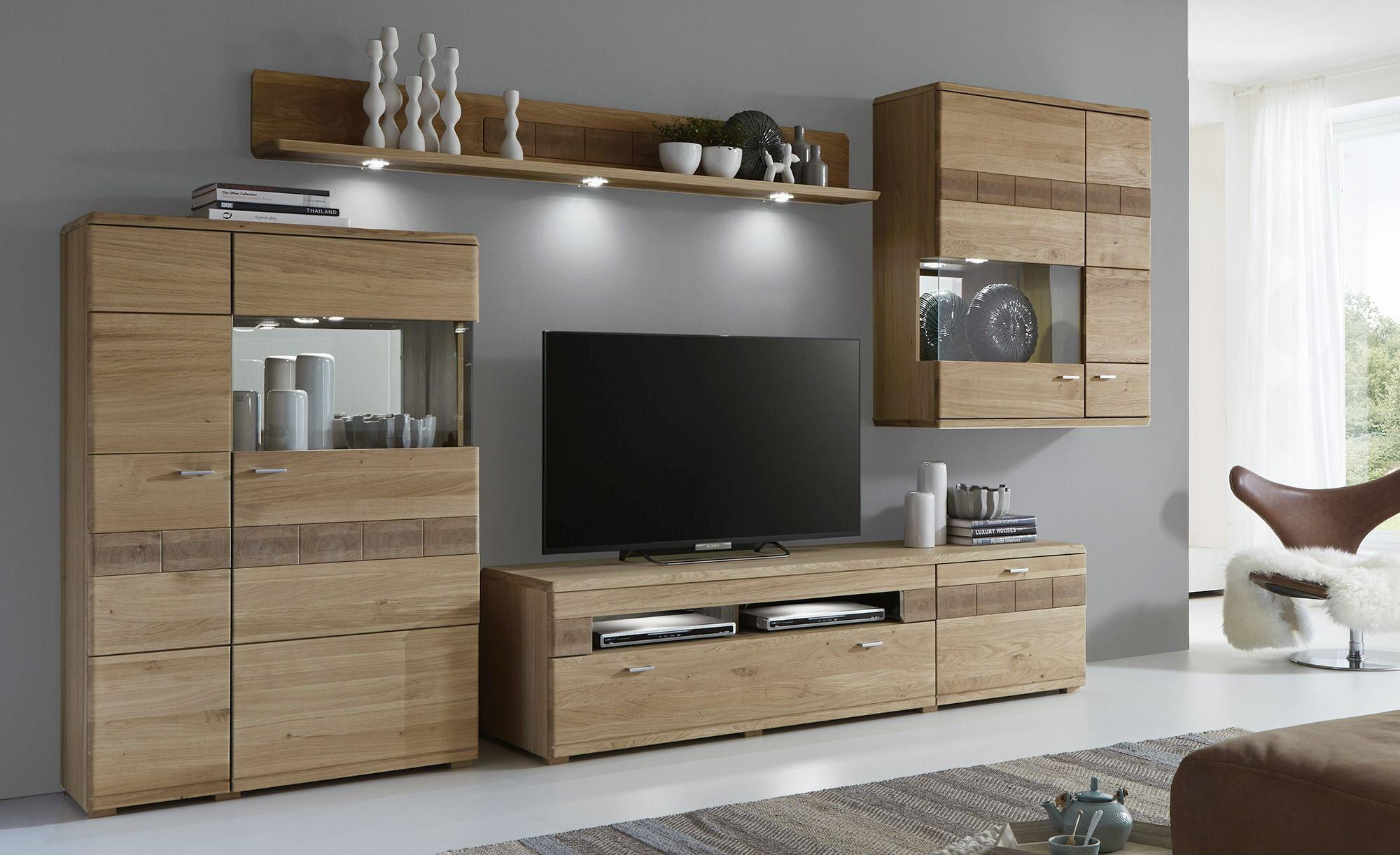 woodford teilmassive wohnwand montiert miro wohnzimmer diy wohnung und einrichtung. Black Bedroom Furniture Sets. Home Design Ideas