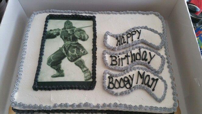 Landons,cake was cool !!!