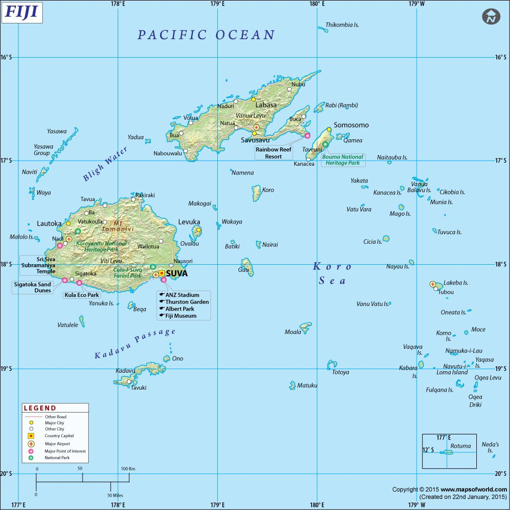 Fiji map fiji pinterest fiji fiji and city fiji map gumiabroncs