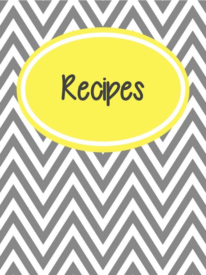 My Recipe Binder Cover Category Pages Apps Snacks Beverages Breakfast Crock Pot Meals Favor Recipe Book Printables Recipe Binder Cover Food Printables