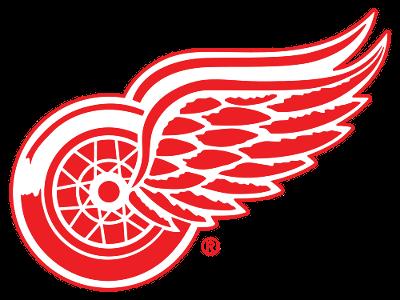 Printable Detroit Red Wings Logo Detrojt Red Uingz Hokkej Illyustracii