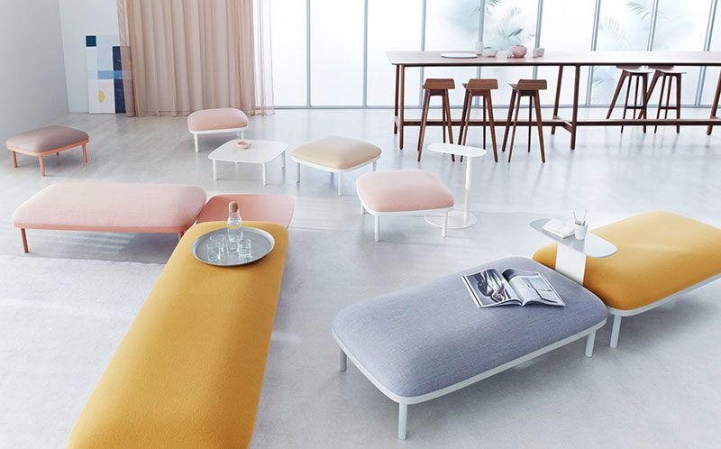 ophelis Has Launched A New Modular Furniture Collection For Offices ...