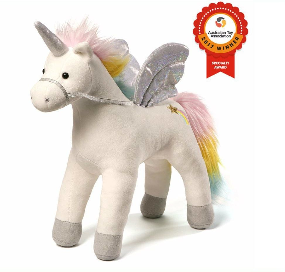 My Magical Unicorn Animated Stuffed Animal Plush with