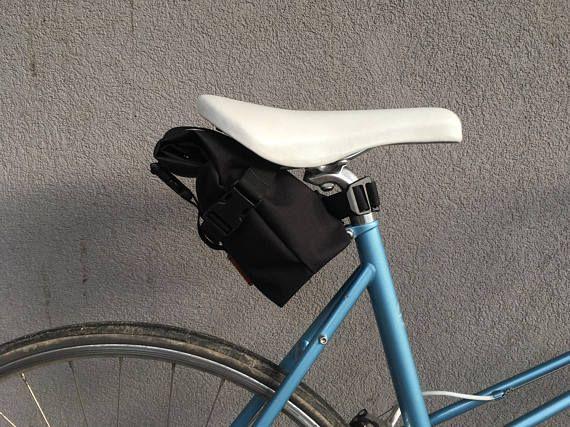 Rolltop Saddle Bag Turini Waterproof Cordura Fabric
