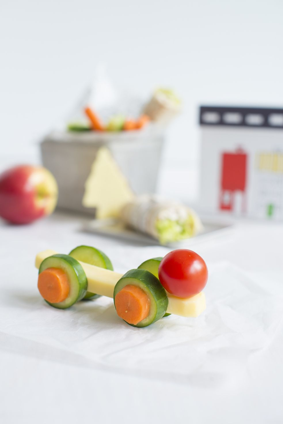 With cheese, carrots and cucumber already on his 'love 'list, this fun little car racer could be just the thing to encourage George to try tomatoes in his lunchbox at preschool tomorrow.  For more new back to school recipe ideas and lunchbox prep timesaving ideas download our FREE ebook today. http://onehandedcooks.com.au/2017-back-to-school-recipe-ebook/
