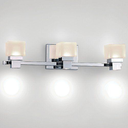 Kube dweled bath bar by wac lighting at lumens com led vanity lightslighting