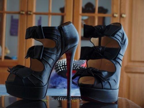 Christian Louboutin. The power pf beige heels! - HeelsFans.com