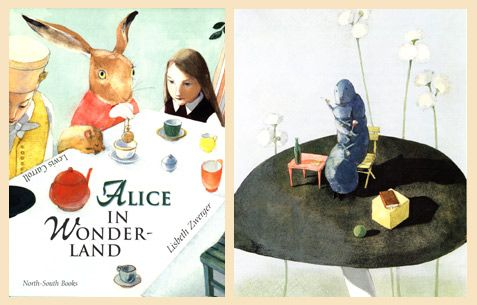 Alice in Wonderland written by Lewis Carrol and illustrated by Lisbeth Zwerger