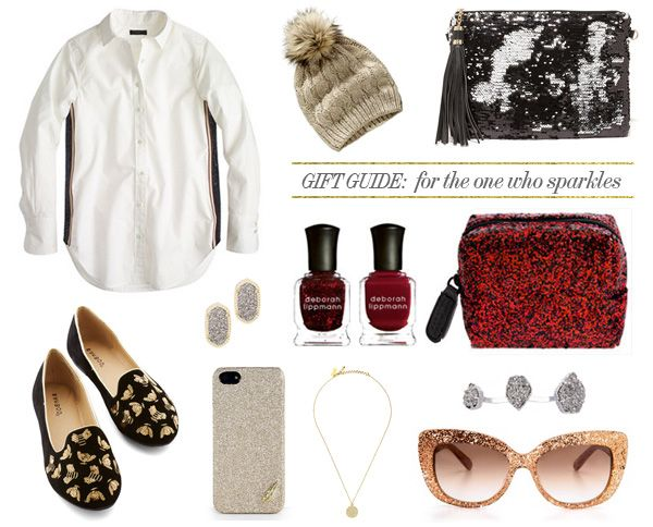 Holiday Gift Guide: Sequin & Glitter