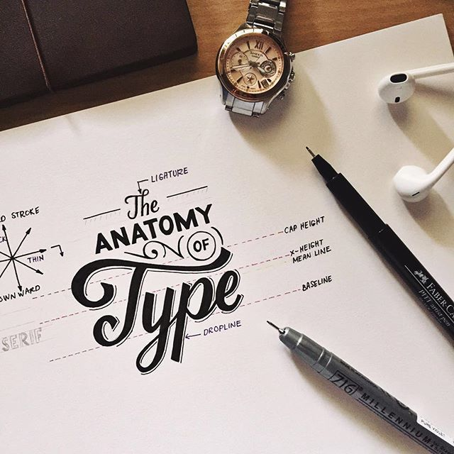 """Hand Lettering Workshop Saturday 9th April 2016 — This Saturday learn and understand the fundamentals of typography. It is the key to creating not just good but """"better"""" lettering pieces. Seats are limited so sign up now!  About the instructor: Mye De Leon is an experienced letterer that specialises in creating awesome lettering design, surface pattern designs, illustration and vintage inspired lettering. Check out her Instagram @myedeleon"""