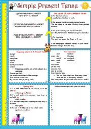 Worksheets One Thousand Sentence Of Simple Present Tense 1000 images about simple tense on pinterest english presents and past present future