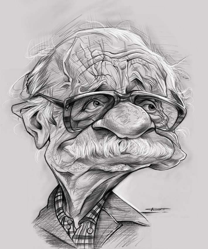Для, рисунок карандашом смешное лицо