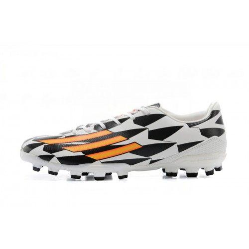 Adidas Adizero F50 Messi Leo FG Scarpe da calcio bianca