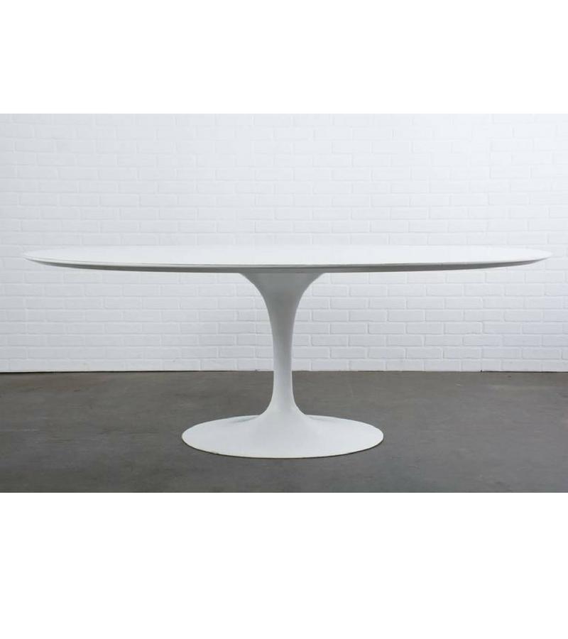 Gloss White Tulip Dining Table Eero Saarinen Style U2013 Onske